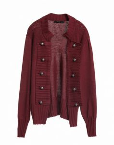 CARDIGAN TRICOT SOLDIER