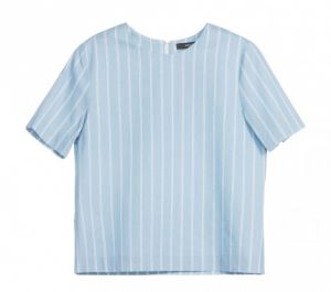 TOP STRIPES DENIM