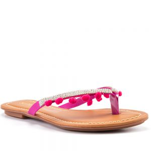 Tamanco Summer Cristais Pink