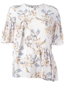Blusa de seda estampada  Stella McCartney
