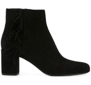 Ankle boot de couro  Saint Laurent