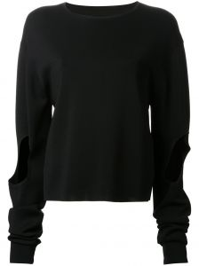 cut-out  Circle  sweater  Dion Lee
