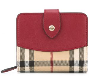Carteira color block  Burberry