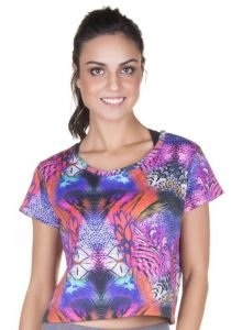 Top Cropped Estampa Animal Print Marcyn | 506.8211