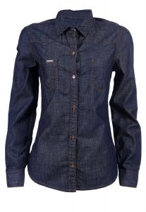 Camisa Jeans Escuro - JEANS P