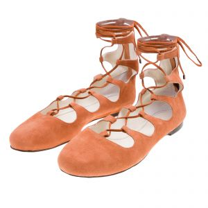 Sapatilha lace up doll Vinci Shoes - marrom