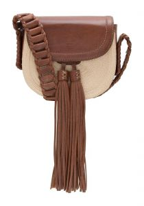 Bolsa crossbody mini Janis resort - bege