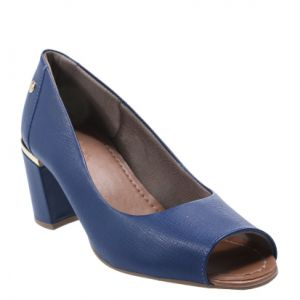 Peep Toe Usaflex NEW BLUE