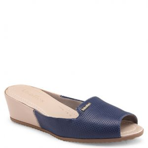 Tamanco Usaflex NEW BLUE/BLUSH