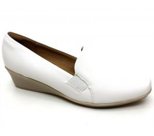 Sapato Branco Anabela Piccadilly 143012