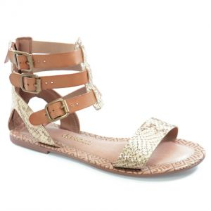 Sand�lia Gladiadora Dakota Natural - Z0142