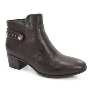 Bota Cano Baixo Bottero Dark Brown - 247002