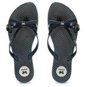 Chinelo Zaxy Fresh Top Preto - 17097