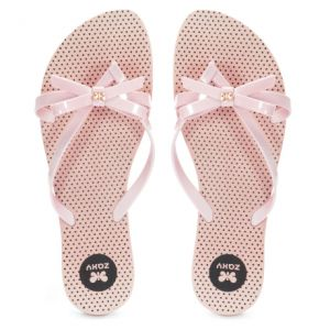 Chinelo Zaxy Fresh Top Nude - 17097