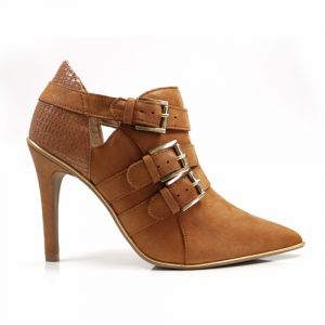 Ankle Boot Ramarim 14.26102 Caramelo Ouro