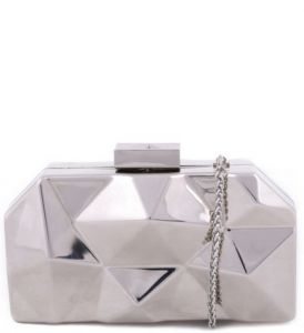 Clutch Diamond Prata SCHUTZ