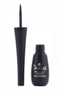 Delineador Líquido 3,5ml Dailus Color Preto