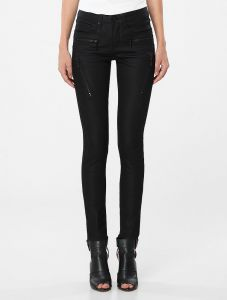 CAL�A CALVIN KLEIN JEANS FIVE POCKETS JEGGING PRETO