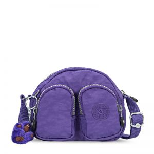 Mini bolsa Kalipe roxa Purple Grape Kipling