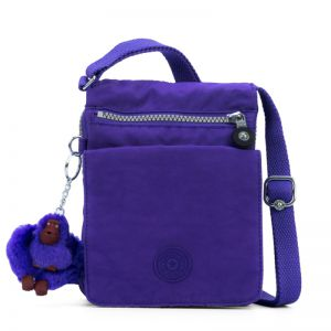 Bolsa transversal Eldorado roxa Purple Grape Kipling