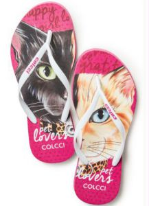 Chinelo Colcci Twin Cats