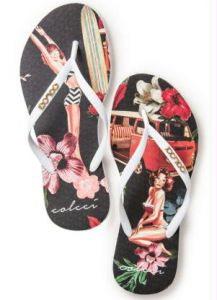 Chinelo Colcci Pin Up