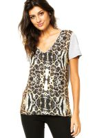 Camiseta-Forum-Animal-Print-BegeCinza-Forum