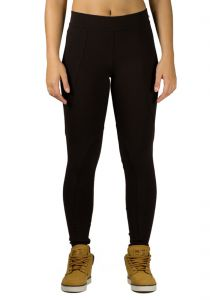Legging Praxis Fit Casual Marrom Praxis