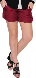 Short Estilo Boutique Tweed Bordo Estilo Boutique