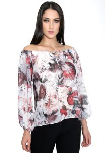 Blusa Richini Cigana arte-se Estampada Richini