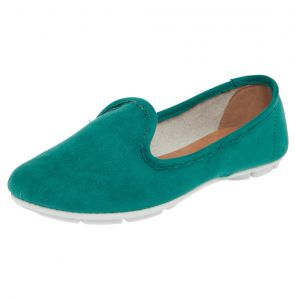 Mocassim DAFITI SHOES Clean Verde DAFITI SHOES