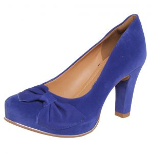 Scarpin Dakota La�o Azul Dakota