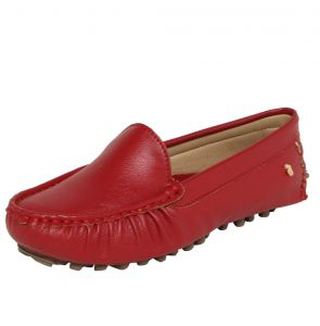 Mocassim Polo London Club Logo Vermelho Polo London Club