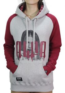 Moletom Alfa Candy Raglan Lollipop Bordo Alfa