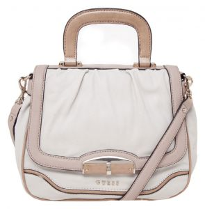 Bolsa Guess Metal Off-White/Nude Guess