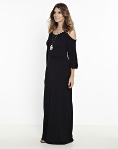 Vestido Manola Longo Marry Preto Manola