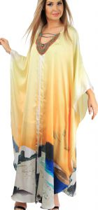 Kaftan 101 Resort Wear Vestido Estampado 101 Resort Wear
