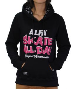 Moletom Alfa Candy Skate All Day Preto Alfa