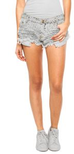 Shorts Jeans Degrant On�a Color Azul Degrant