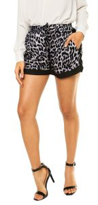 Short Facinelli by MOONCITY On�a Azul/Preto Facinelli by MO