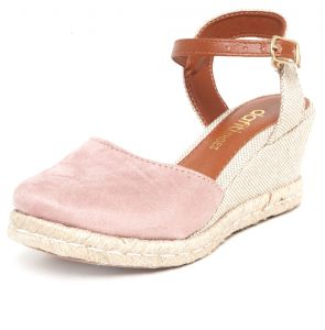 Scarpin DAFITI SHOES Espadrille Corda Nude DAFITI SHOES