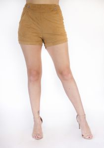 Shorts Tecido Lube Suede Gold Lube
