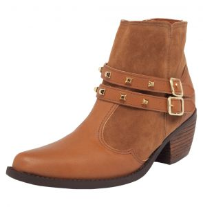 Bota DAFITI SHOES Country Caramelo DAFITI SHOES