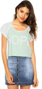 Blusa Pink Connection Hope Verde Pink Connection