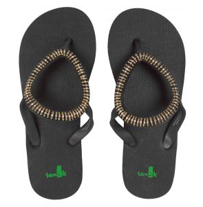 Chinelo Sanuk Ibiza Native Preto Sanuk