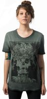 Camiseta-Skull-Lab-King-Verde