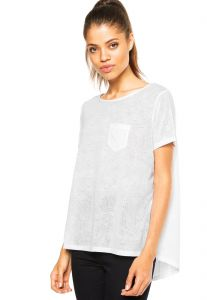 Camiseta Colcci Mullet Off-White