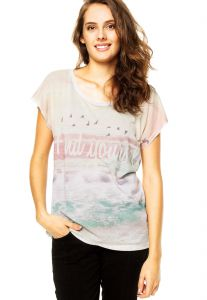 Blusa It  s & Co Fund Off-White It  s & Co
