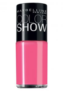 Esmalte Maybelline Color Show 160 Pink Boom Rosa Maybelline