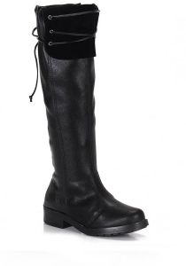 Bota Over The Knee Feminina Moleca - Preto